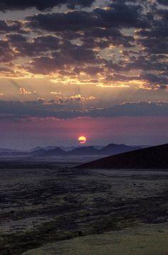 namib desert sunrise