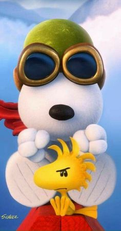 """Snoopy Flying Ace""."