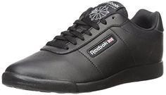Reebok Women's Princess Lite Classic Shoe, Black, 11 M US