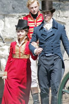 filming 'Death Comes To Pemberley' in York