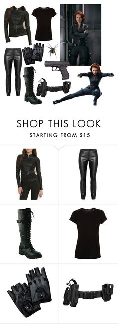"""""""Black Widow Outfit!"""" by archer10 ❤ liked on Polyvore featuring Vince, women's clothing, women, female, woman, misses and juniors"""