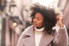 Kai Avent-deLeon, Great Hair and Coat (by Dries Van Noten) - Garance Dore