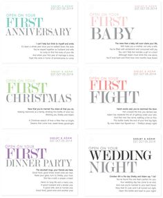 PRINTABLE Wedding Wine Labels Milestone Stickers by StudioBLabels