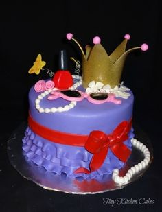Fancy Nancy By dragonfly2311 on CakeCentral.com