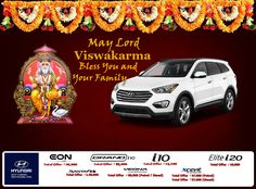 Mukesh Hyundai wishes you and your family a happy Viswakarma Puja.. Visit your nearest Mukesh Hyundai showroom for attractive offer.