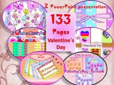 Valentine's  Day - Activities - BUNDLE - Printables - PowerPoint presentation - Clip ArtThis bundle includes: 9 products ( 143 pages)*1.Valentine's Day- Math and Literacy Fun- PowerPoint presentationHearts for Valentine's Day- Addition and Subtraction to 20This is a 15 slide PowerPoint presentation.