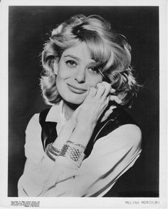 Portrait of Melina Mercouri, Never On Sunday, Die A, Greek Culture, Women Figure, Great Women, Movie Stars, Style Icons, 1960s, Singer
