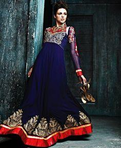 https://www.a1designerwear.com/taking-navy-blue-anarkali-salwar-kameez
