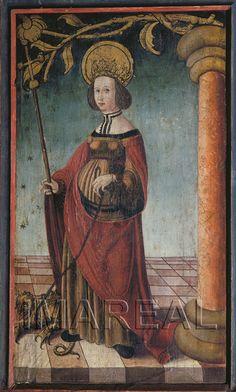 Hl. Margareta 1515-1525; Schleissheim; Österreich; Oberösterreich; Pfarrkirche Hl. Gallus  http://tarvos.imareal.oeaw.ac.at/server/images/7017893.JPG