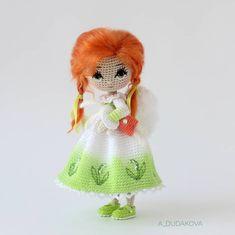Ангел № 7 И ее Яша Морковкин. Характер этой крошки весь в первой фотографии. #таещештучка Дом нашли / sold . #a_dudakova_dolls #miniature #ангел