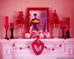 Valentine's Day Box Decorating Ideas. Valentinedecorationideasromanticvalentinesdaytabledecoration