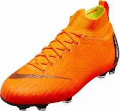Nike Kids Superfly 6 Elite FG – Total Orange Volt Youth Soccer Shoes fcf9f7238e7