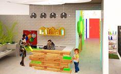 Διακόσμηση Ιατρείων   Διακόσμηση ιατρείου - Παιδοδοντιατρείου Toy Chest, Storage Chest, Loft, Cabinet, Bed, Furniture, Home Decor, Jelly Cupboard, Homemade Home Decor