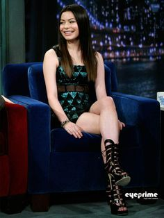 miranda cosgrove on jimmy fallon | Miranda Cosgrove appears on Jimmy Fallon Show - Miranda Cosgrove Photo ...