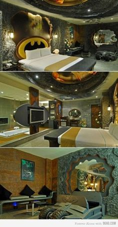 The ultimate bachelor pad....fuck that I want it lol