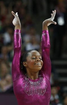 Gabby Douglas and her infectious smile.
