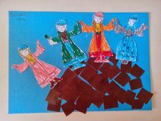 Maro's kindergarten: Κατασκευές για την 25η Μαρτίου: Οι Σουλιώτισσες 28th October, Painting, Art, Art Background, Painting Art, Kunst, Paintings, Performing Arts, Painted Canvas