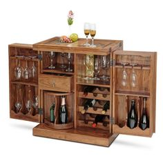Bar Cabinet To Fulfill All Your Spirit Needs! Trendy Bar, Portable Bar,  Indian