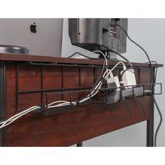 Hide Cables, Hide Wires, Hiding Tv Wires, Hide Electrical Cords, Hide Tv Cords, Kids Homework Station, Billy Regal, L Shaped Executive Desk, Floating Desk