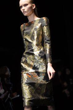 Glden Leaves Gucci Fall Winter 2013 Milan Fashion Week #MFW