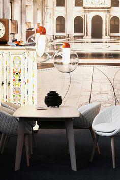 Moooi Taperot Tisch cinnamon 250x110 http://www.flinders.de/moooi-design/ #moooi