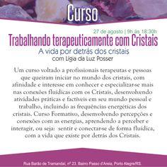 Grupo de Umbanda Triângulo da Fraternidade: CURSO TRABALHANDO TERAPEUTICAMENTE COM CRISTAIS.