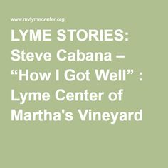 lyme center News for the lyme and tick-borne diseases research center.