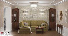 Amenajare casa – design interior in stil clasic - Studio inSIGN Interior Styling, Interior Decorating, Interior Design, Sofa, Couch, Classic Style, Furniture Design, Living Room, Studio