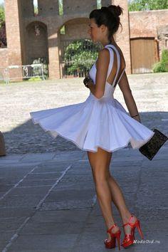 Уличная мода: Уличная мода лето 2014: белый цвет