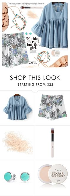 """""""Strapped In: Lace-Up Sandals"""" by pokadoll ❤ liked on Polyvore featuring Ancient Greek Sandals, Eve Lom, Bling Jewelry, Fresh, polyvoreeditorial, polyvorefashion, polyvoreset and zaful"""
