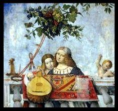 Italian Renaissance Art -  Lute Players