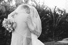 Wedding Photos | 2014 Melissa and Jon | Altadena Club | Bride and Groom Photos | Black and White | Couples Shot | Dear Darling Photography