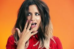 Caroline Flack Gets Her Smize On As The Face Of Regis Hair Salons (PICS)