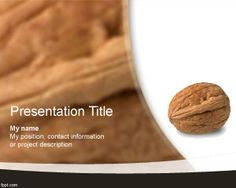 Free Walnut PowerPoint Template is a free PPT template design for Microsoft…