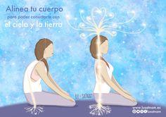 La postura abre un sendero de energía entre los puntos meridianos produciendo cambios energéticos muy beneficiosos para nuestro cuerpo. Por ello es muy importante tomar consciencia y revisar nuestra postura durante la práctica de yoga. La pelvis es tu base de soporte. Sentarse bien requiere que la geometría de la pelvis esté en buena relación con la gravedad. Para ello tienes que sentarte conscientemente sobre tus isquiones y rendir tu peso a la gravedad a través de ellos, estirando la…