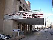 War Memorial . Home of the Syracuse Crunch Hockey Team