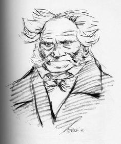 Tullio Pericoli  Arthur Schopenhauer