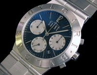 Bvlgari Platinum Rattrapante Chrono worn by Val Kilmer in The Saint (1997). Only 100 made.