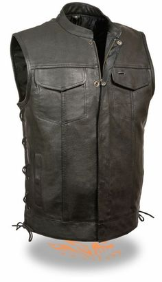 Buffalo Leather Snap Zip Motorcycle Club Vest Dual Concealed Gun & Ammo Pockets with Side Laces ONLY $119.99 with FREE shipping in the Cont USA http://www.clubvest.com/Buffalo-Leather-Snap-Zip-Motorcycle-Club-Vest-Concealed-Gun-SL-CV-LKM3712.htm