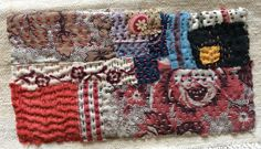 Small fabric collage. Ann Stephens
