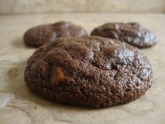 Cocolate cookies...I`ll try them with M&Ms or Smarties