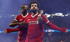 Pep Guardiola's half-time bust-up helped bring Manchester City's Champions League house of cards crashing down Liverpool Champions League, Liverpool Football Club, Liverpool Fc, Manchester City, Salah Liverpool, Image Foot, Mo Salah, Mohamed Salah, Pep Guardiola
