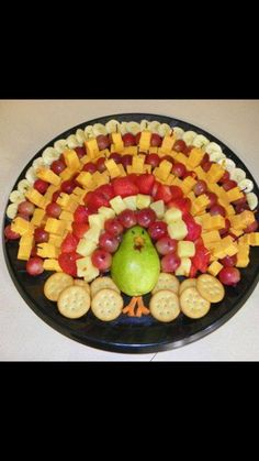 🍭🍭 OMG Super Cute & Easy Fun Recipes for Thanksgiving . - 🍭🍭 OMG Super Cute & Easy Fun Recipes for Thanksgiving Dinner,Desserts,Tee - Thanksgiving Fruit, Thanksgiving Dinner Recipes, Holiday Recipes, Breakfast Appetizers, Holiday Appetizers, Vegetarian Appetizers, Turkey Platter, Fruit Turkey, Turkey Veggie Tray