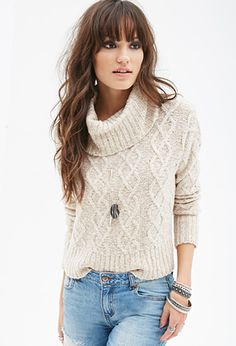 Oversized Turtleneck Sweater | FOREVER21: Oversized : L or Fitted: S