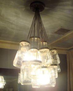 diy chandeliers!