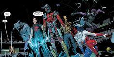 Imagen del Escuadrón Suicida en los cómics