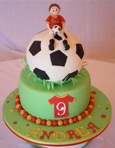 Torte Calcio Cake Art