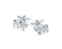 If your guy is all about the market, the bull and bear cufflinks from Tiffany & Co. are a timeless classic.