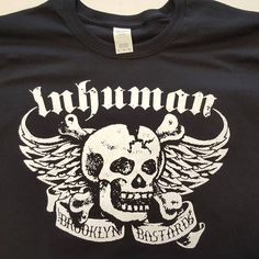 "Image of INHUMAN ""New Bastards"" Design"