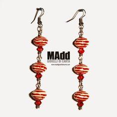 MAdd Gioielli di carta / MAdd Paper jewels: HARD CANDY - Orecchini e bracciale / Earrings and ...